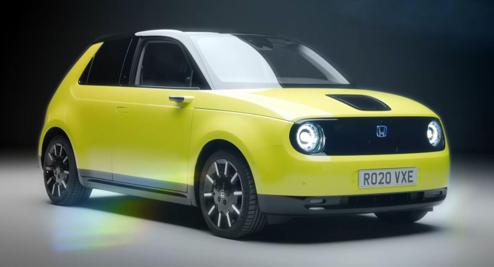 Honda e – повністю електричний хетчбек (2019)