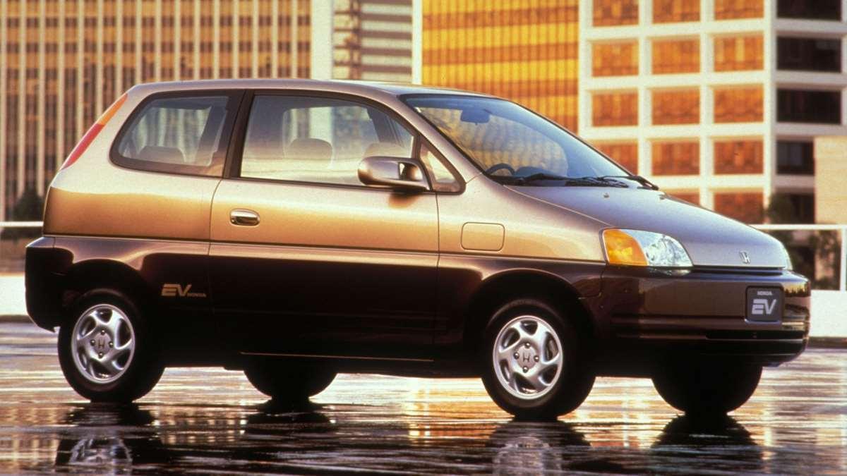 Електромобіль Honda EV Plus 1997 року