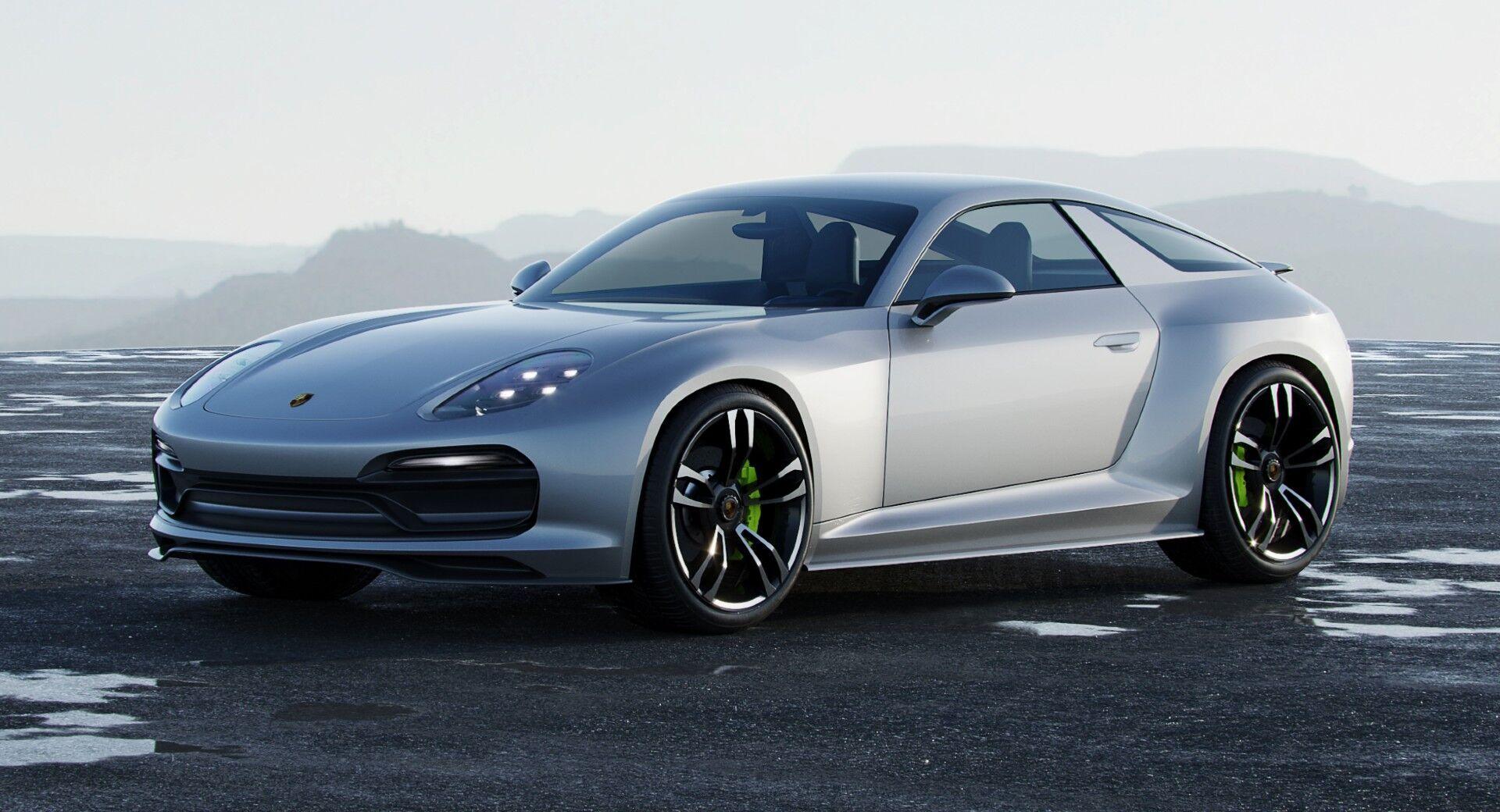 """Фари виконані за мотивами сучасних моделей Porsche із """"квартетом"""" світлодіодів у кожній із фар"""