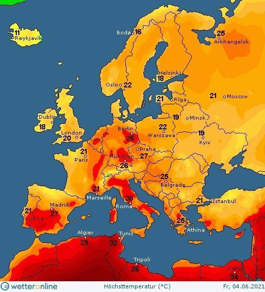 4 июня погоду в Украине будет определять циклон