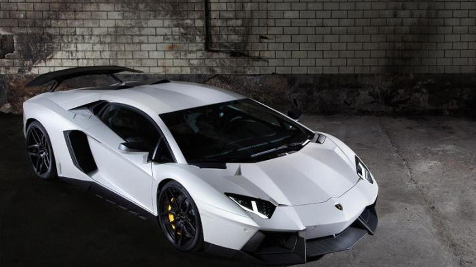 Двигатель Lamborghini Aventador выдает 740 л.с.