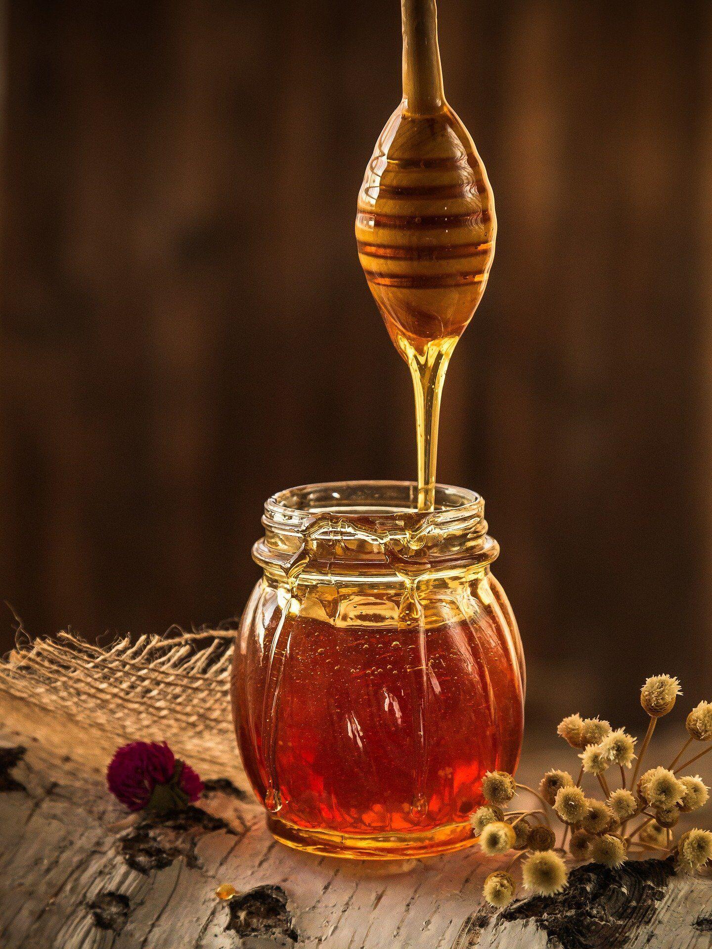 У чайній ложці – 7 г меду