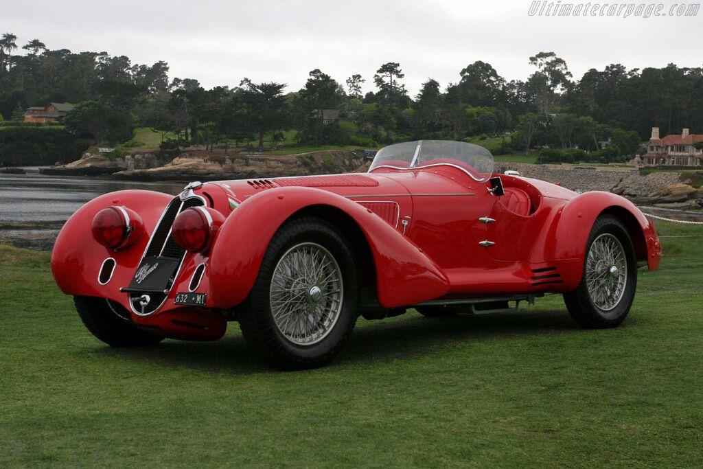 Alfa 8C 2900 Mille Miglia створили для гонки на витривалість