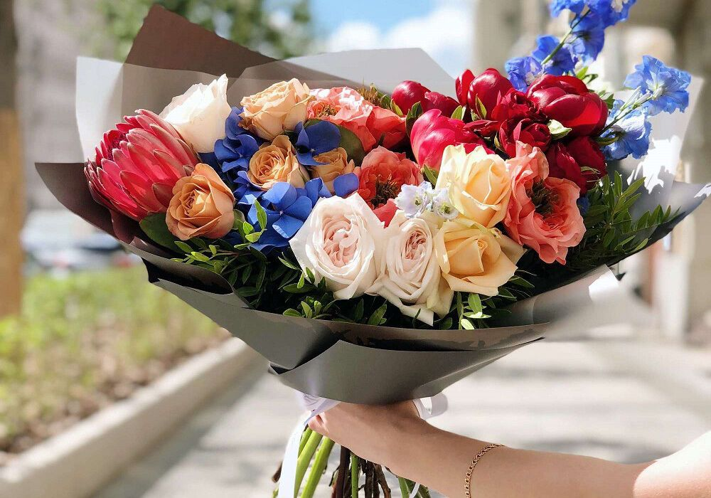 Купить цветы онлайн - это быстро и удобно
