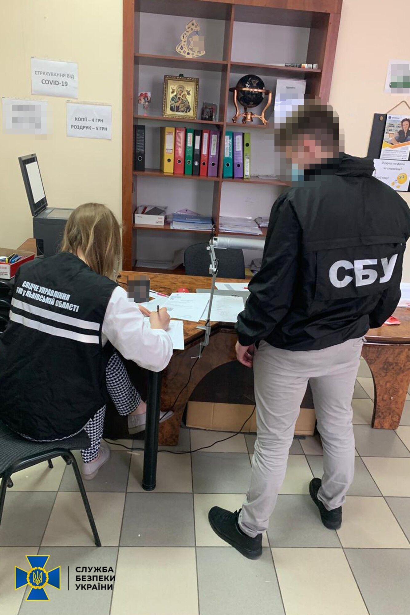 На Львівщині видавали фальшиві довідки тестів на COVID-19 – СБУ