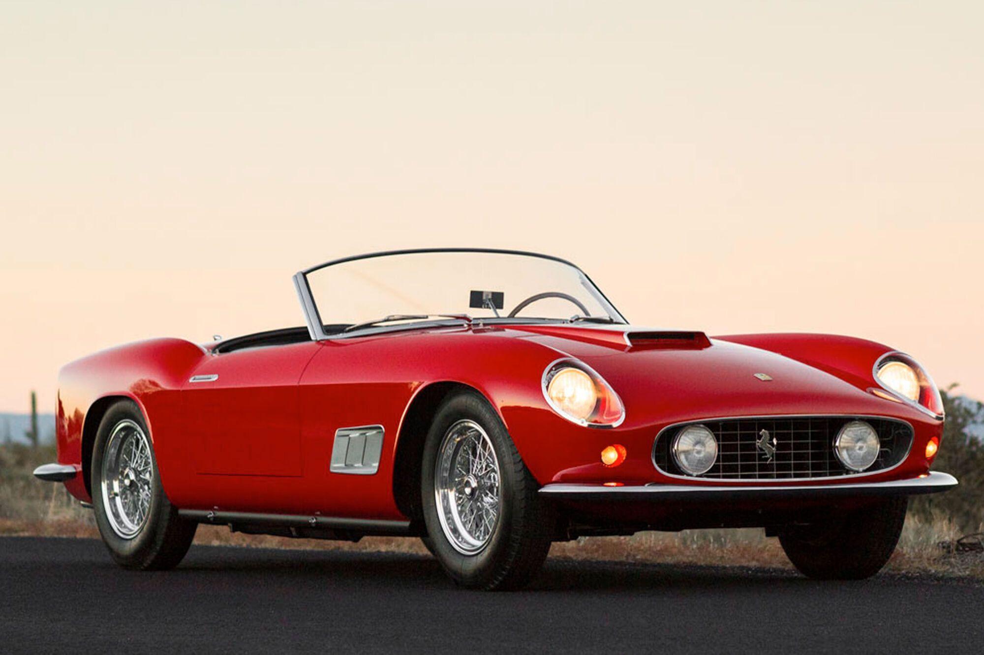 Ferrari 250 GT California Spyder SWB для ринку США