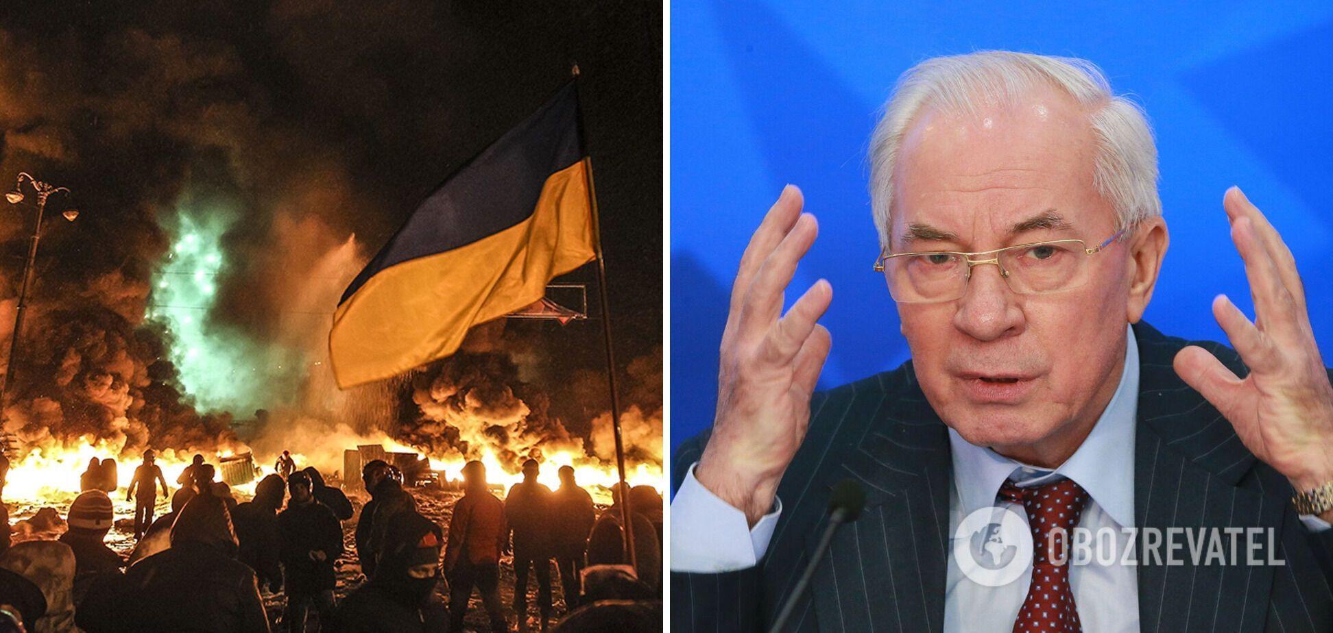 """Азаров обвинил страны ЕС и США в """"координации действий протестующих"""" на Евромайдане"""