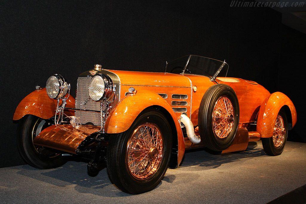 """Hispano H6B """"Tulipwood"""" створили для перегонів Targa Florio"""
