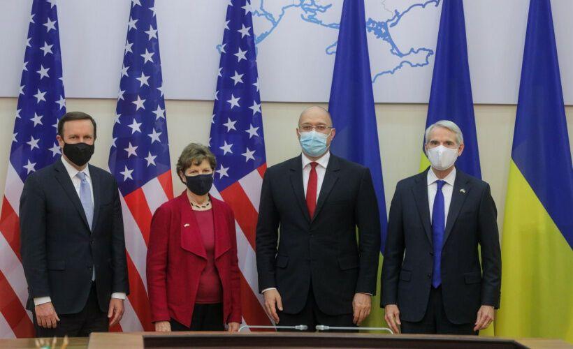 Зустріч Шмигаля з сенаторами