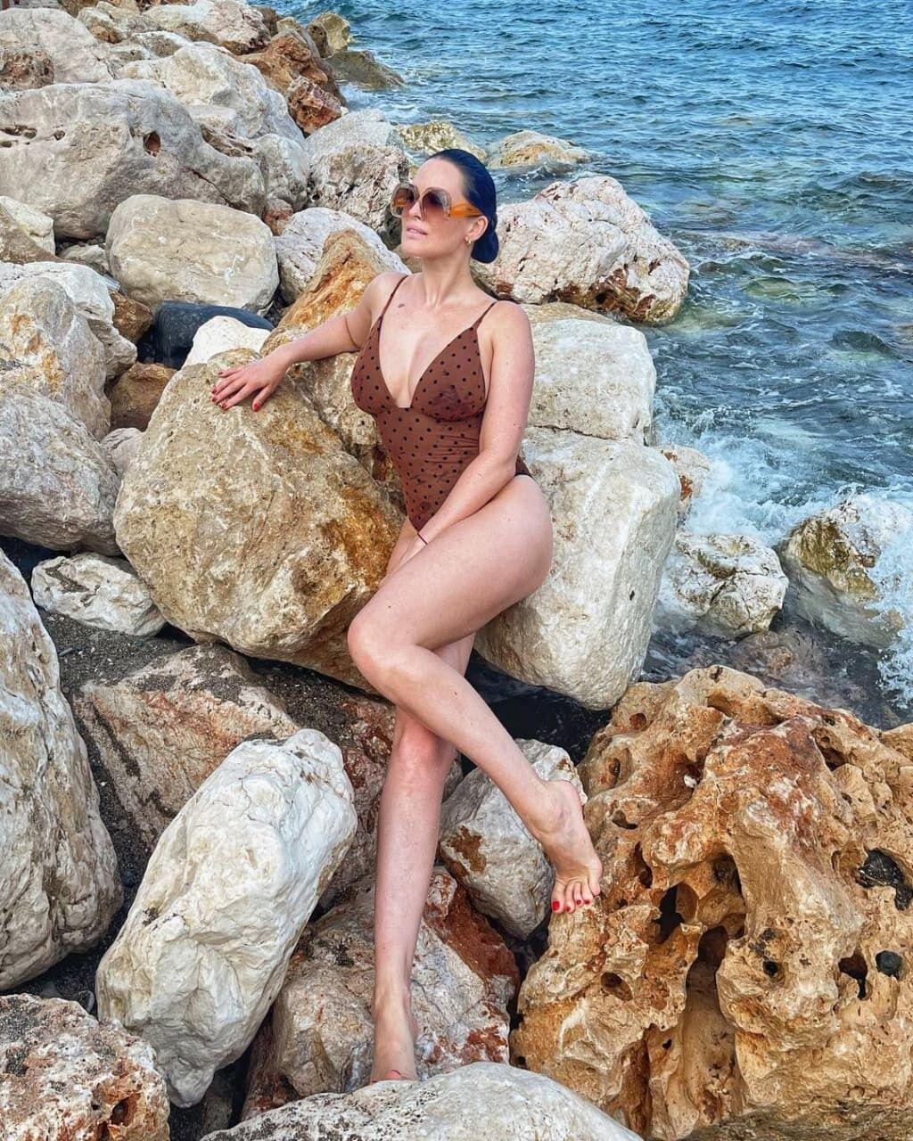 Астаф'єва з'явилася в купальнику.
