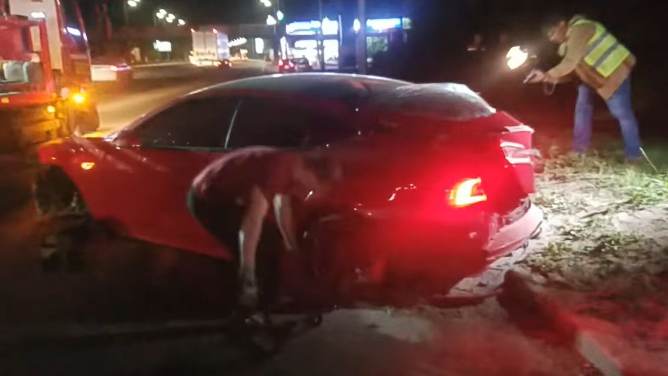 Попередньо, водій елітного авто був тверезий.
