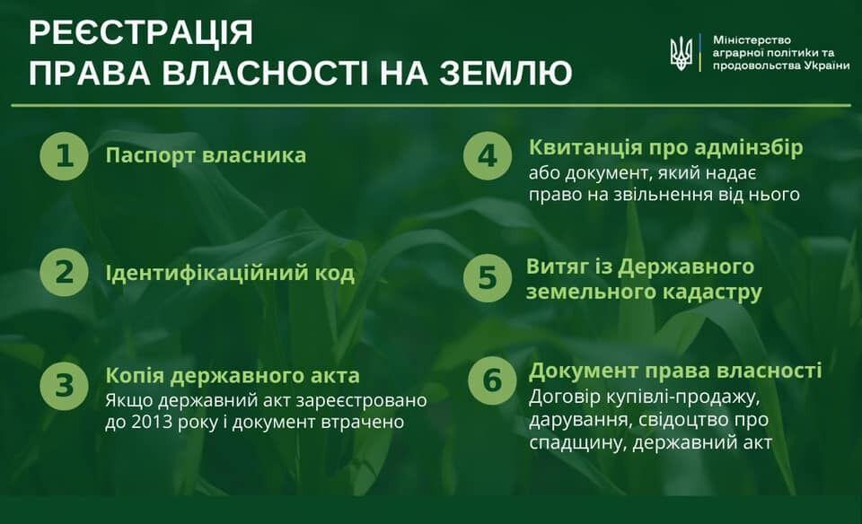Лещенко наголосив, що власник зобов'язаний мати кадастровий номер ділянки та інші папери
