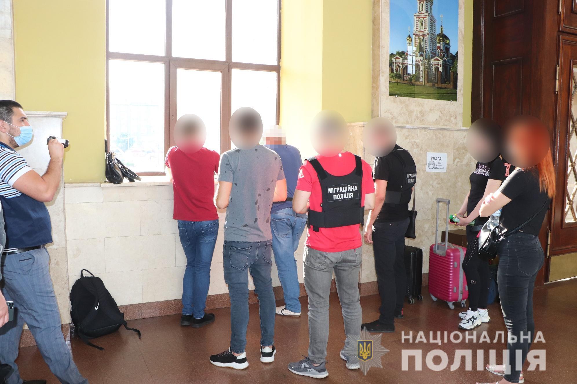 """Підозрюваного затримали на території вокзалу """"Харків-Пасажирський"""""""