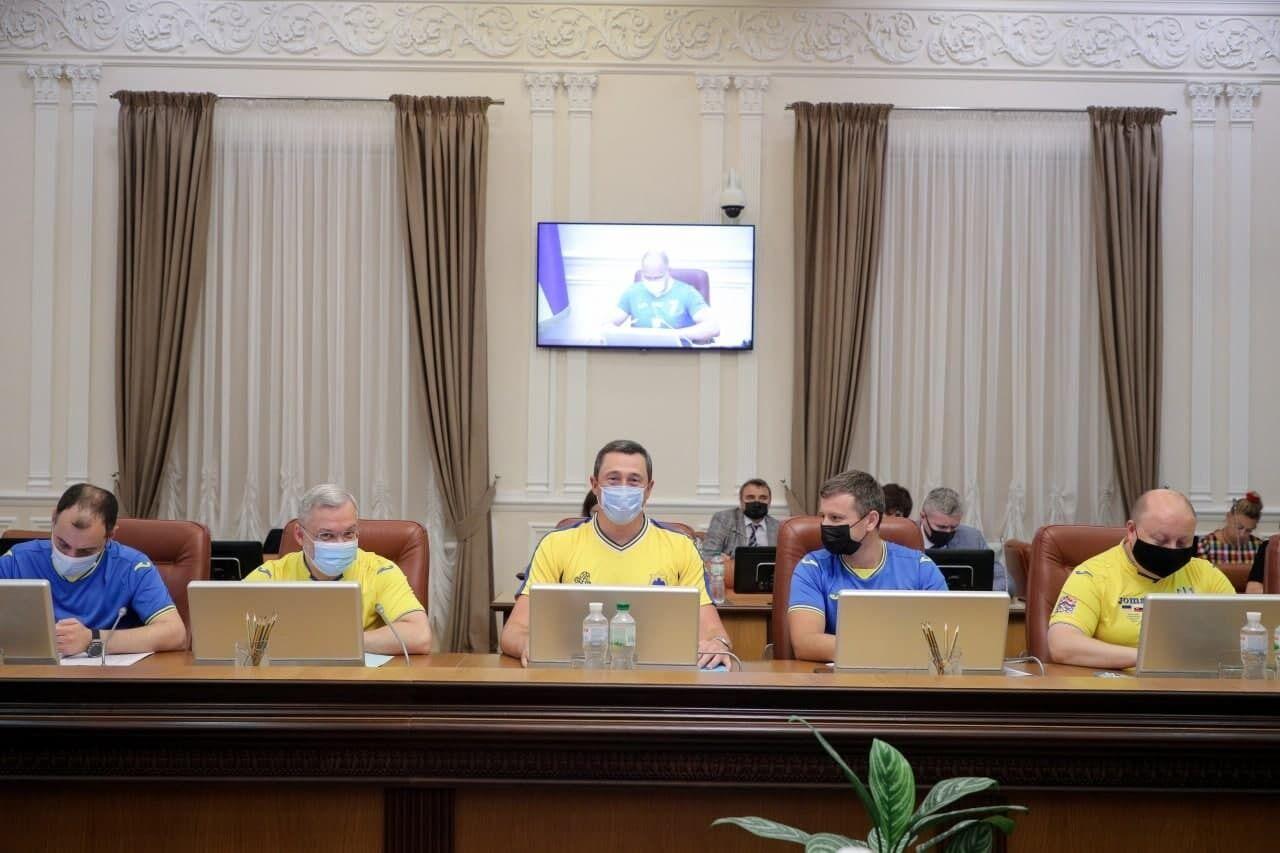 Урядовці привітали українську збірну в виходом в 1/4 фіналу Євро-2020