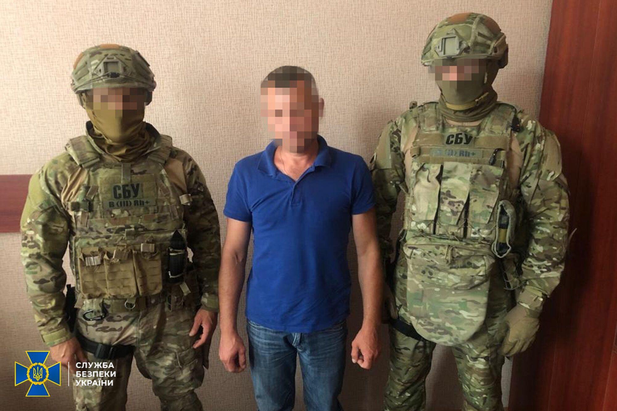 """У Києві викрили бойовика """"ЛНР""""."""