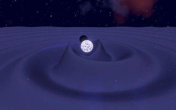 Подвійна чорна діра і нейтронна зірка створюють гравітаційні хвилі