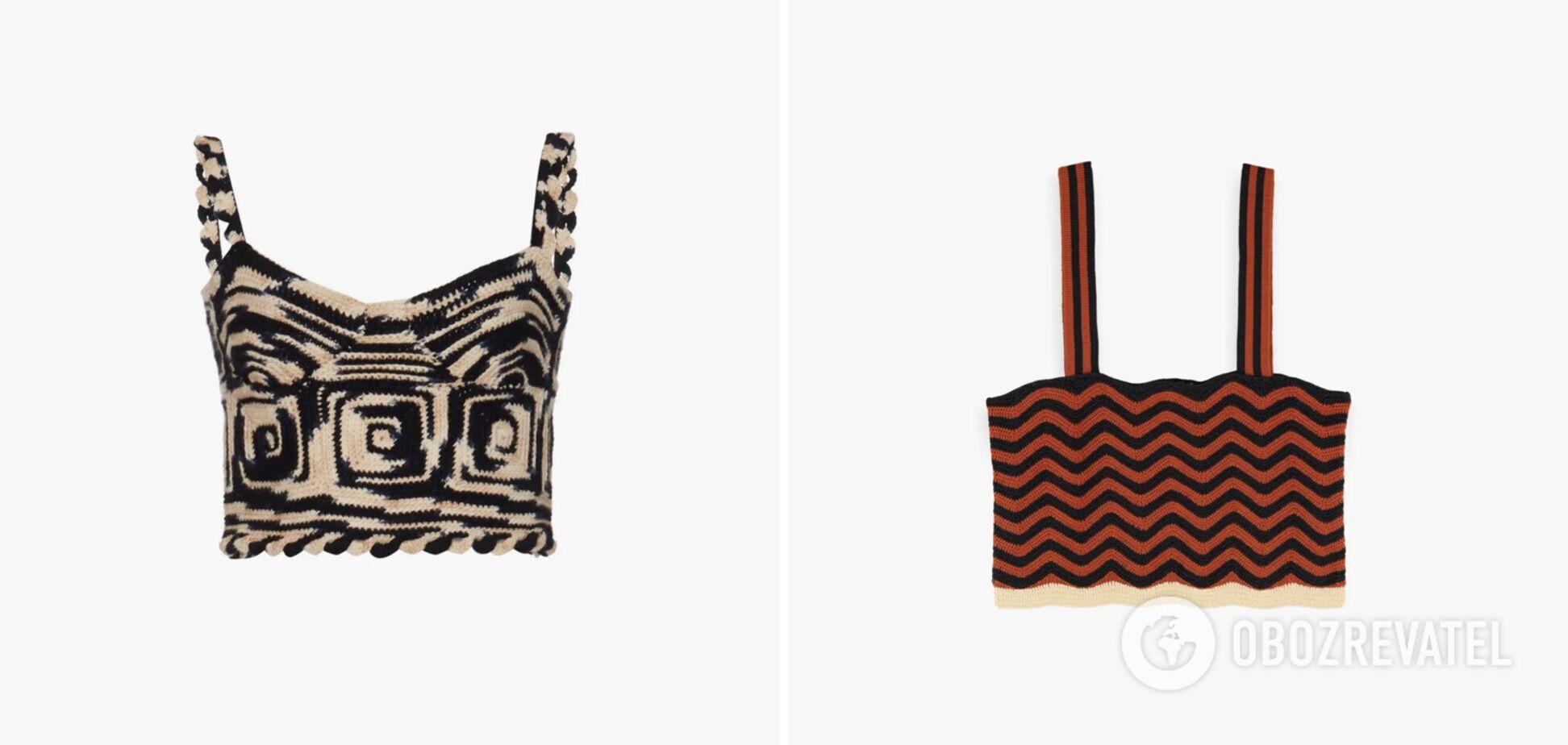 Вязаные вещи крючком есть в каждой коллекции мировых брендов.