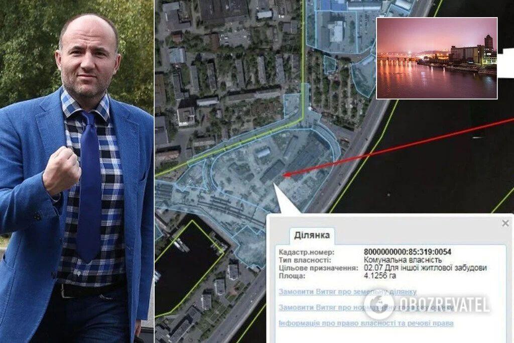 Компанія Павла Фукса намагається субсидувати будівництво нового ЖК на Рибальському острові коштом київської громади
