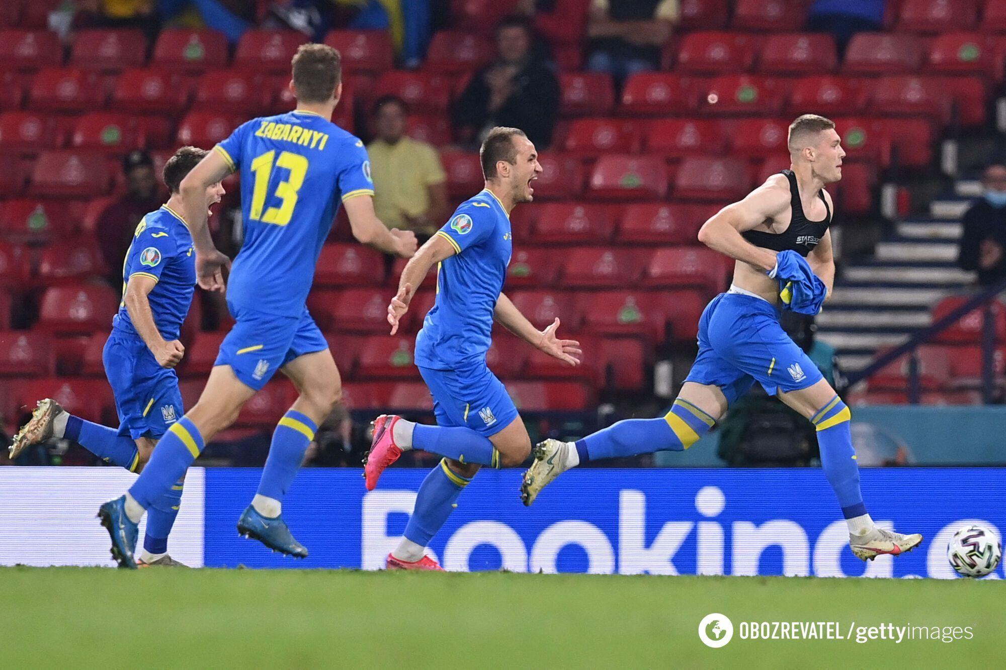Артем Довбык вывел Украину в четвертьфинал Евро-2020