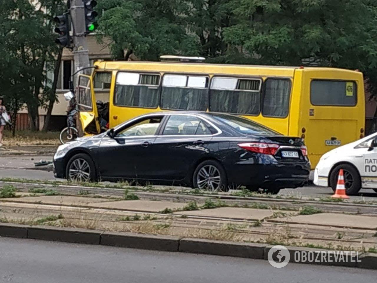 ДТП з маршрутним таксі