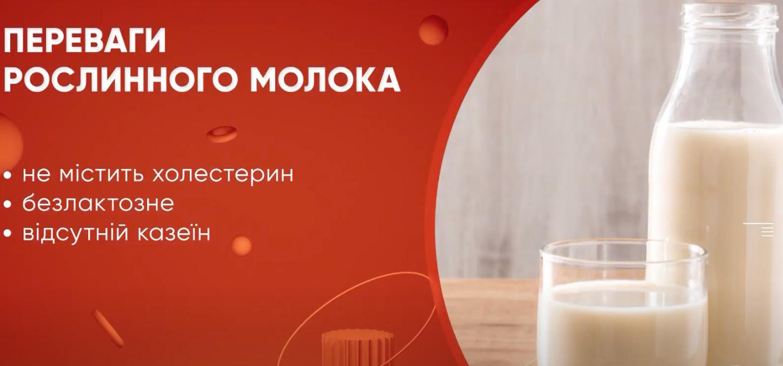 Рослинно молоко абсолютно безпечне