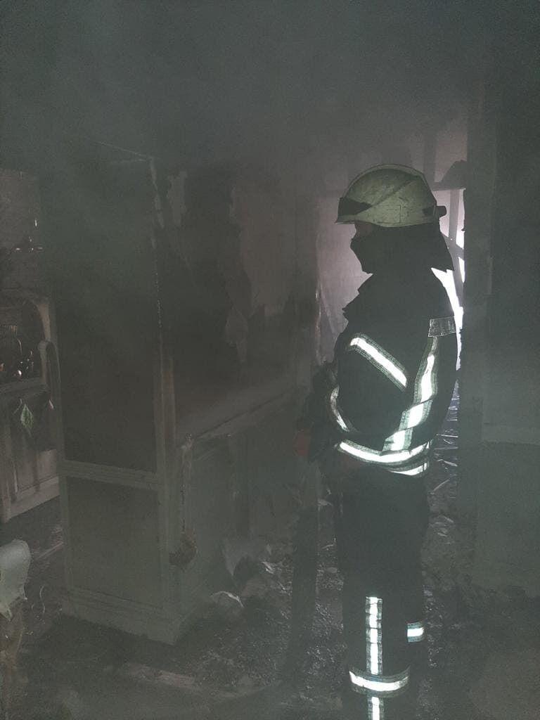 Для ликвидации возгорания задействовали 5 единиц техники.