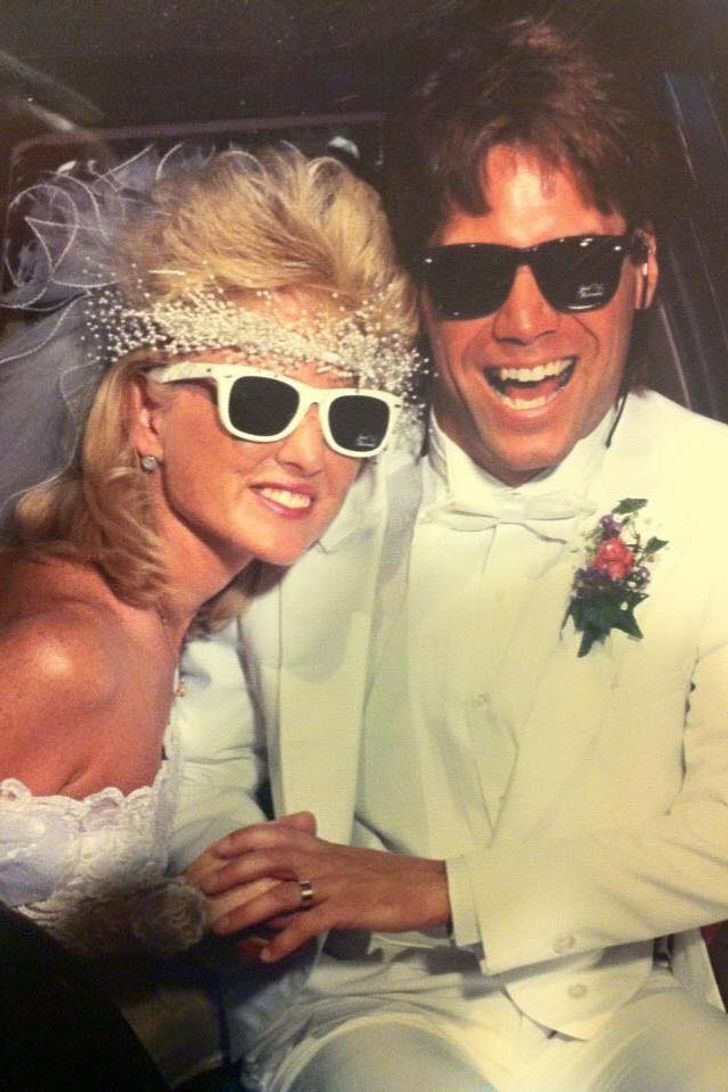 Стильні образи весілля 80-х