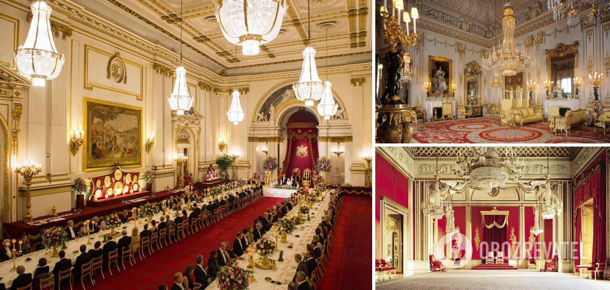 Усім відомий Букінгемський палац, в якому проживає королева Єлизавета