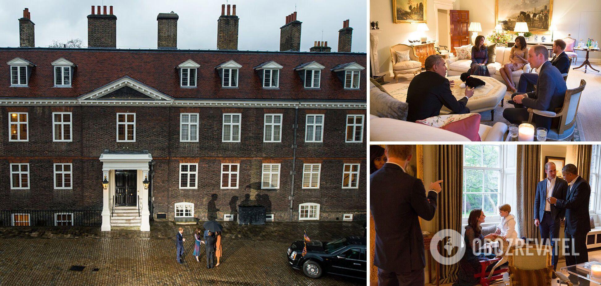 Принц Вільям і його дружина Кейт Міддлтон проживають в апартаментах 1А Кенсінгтонського палацу