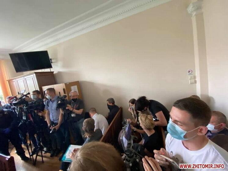 Массовый расстрел на Житомирщине: жены убитых пришли в суд с их фото на футболках. Видео