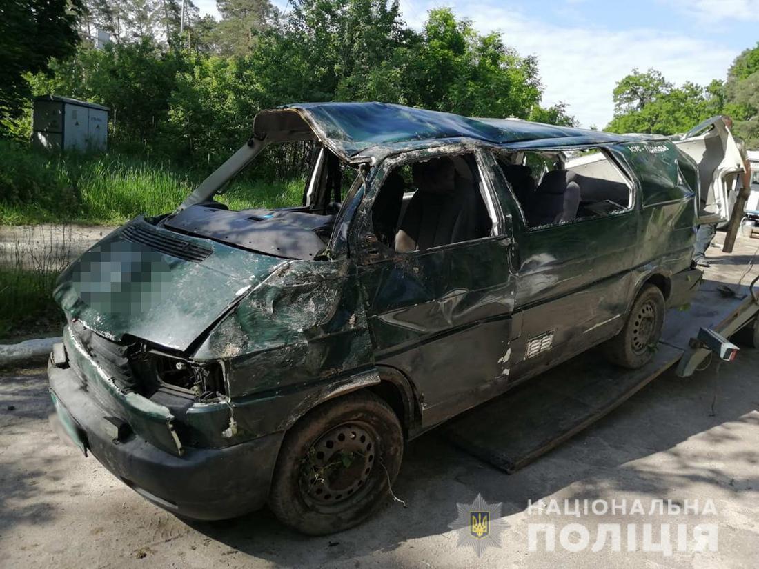 У ДТП на Житомирщині потрапила родина військового капелана з Дніпропетровщини