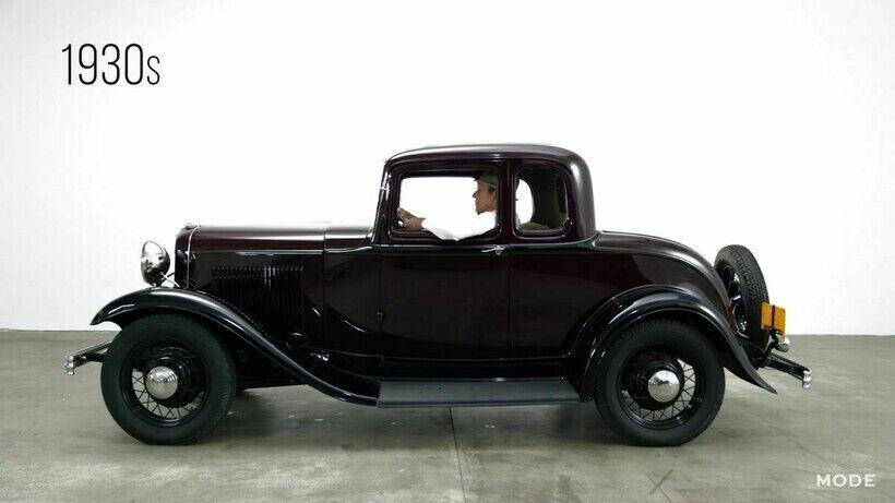 Ford Model B вироблялася у 1932-1934 роках