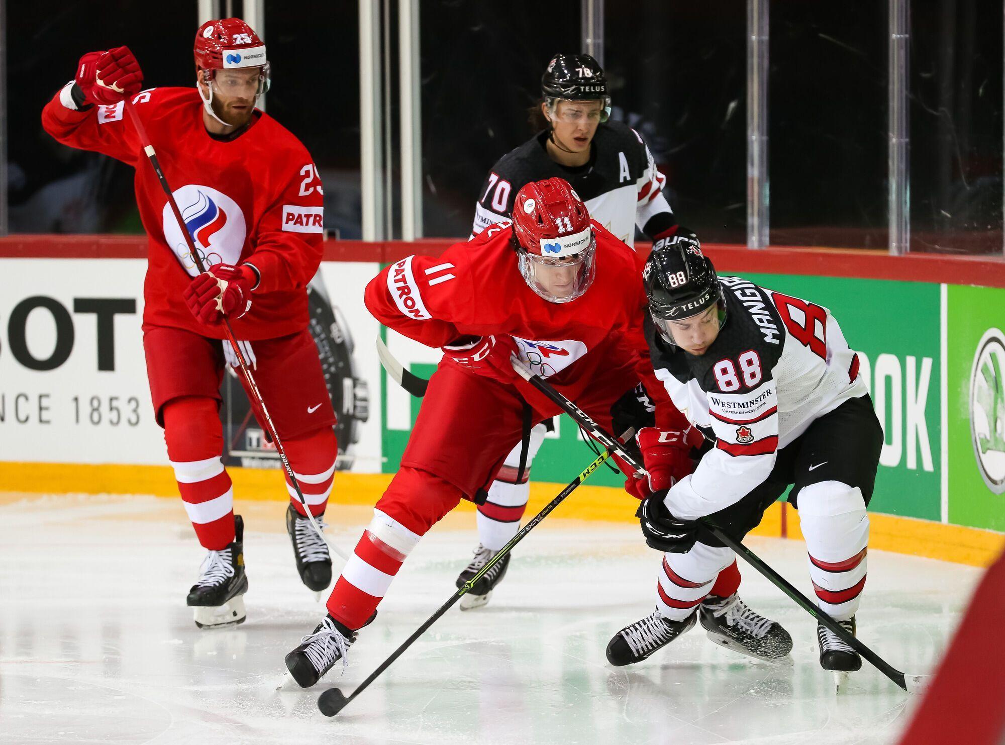 Канада в девятый раз подряд обыграла Россию.