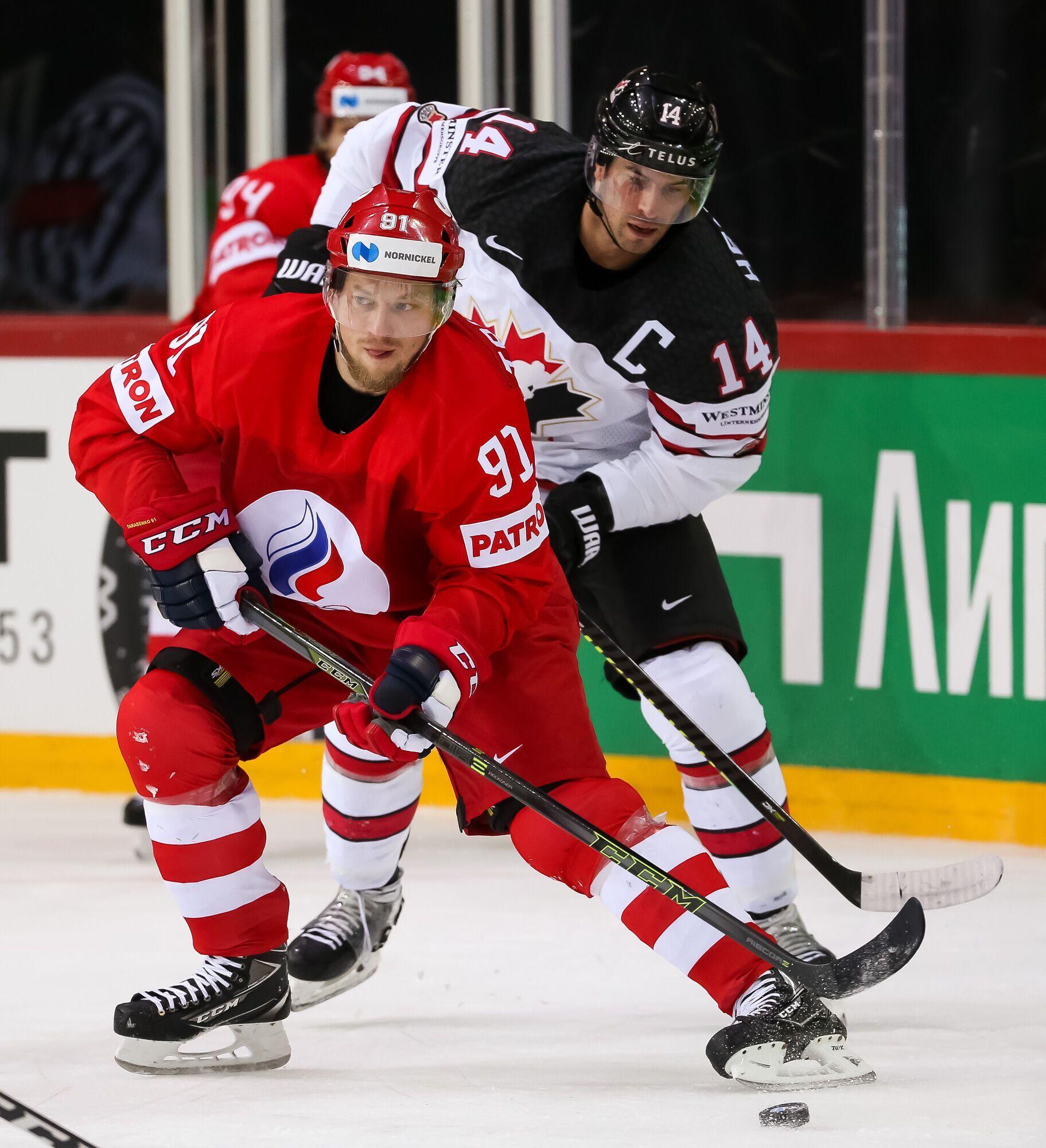 Канада в девятый раз обыграла Россию.