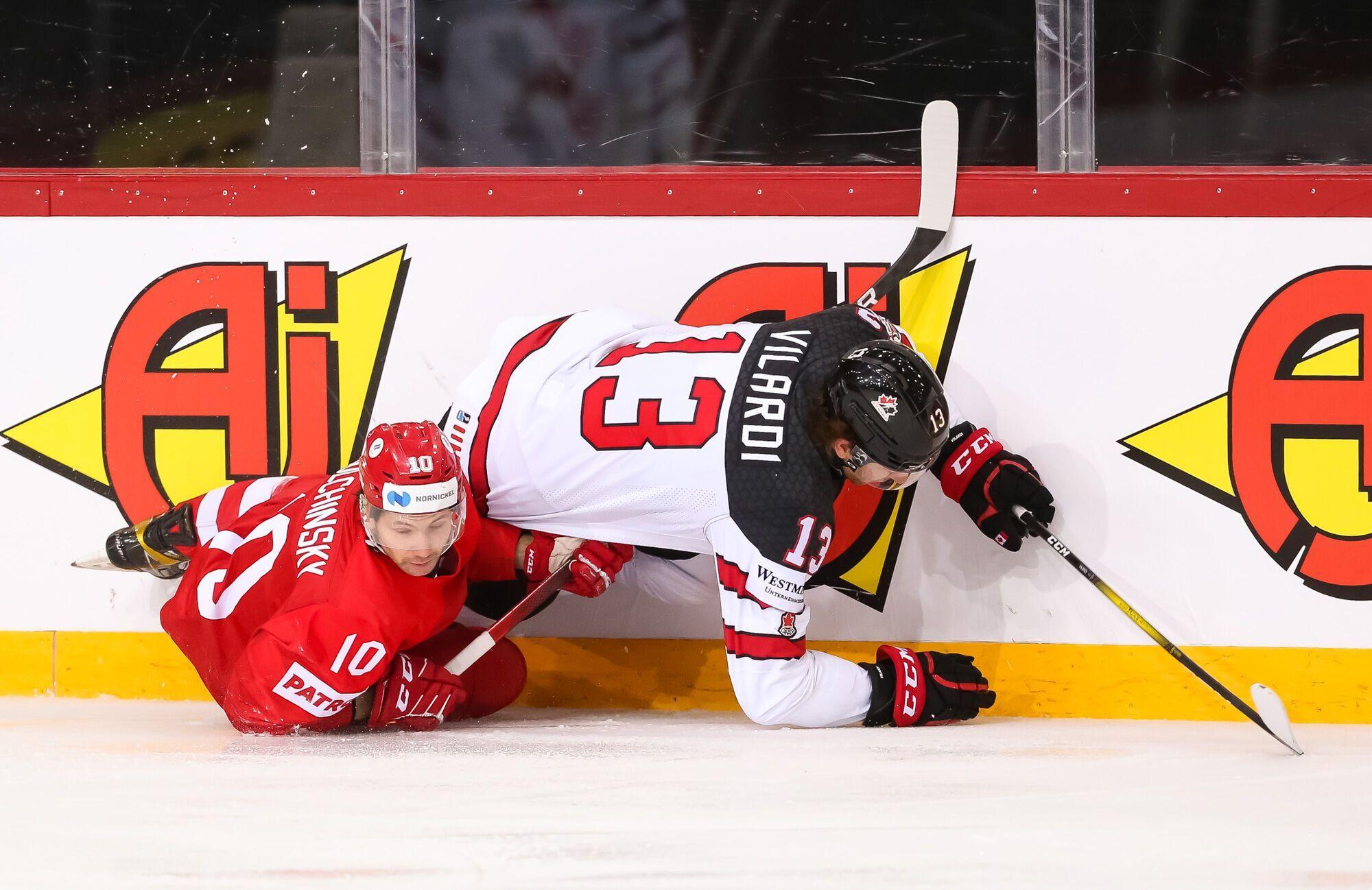 Канадцы сенсационно обыграли Россию.