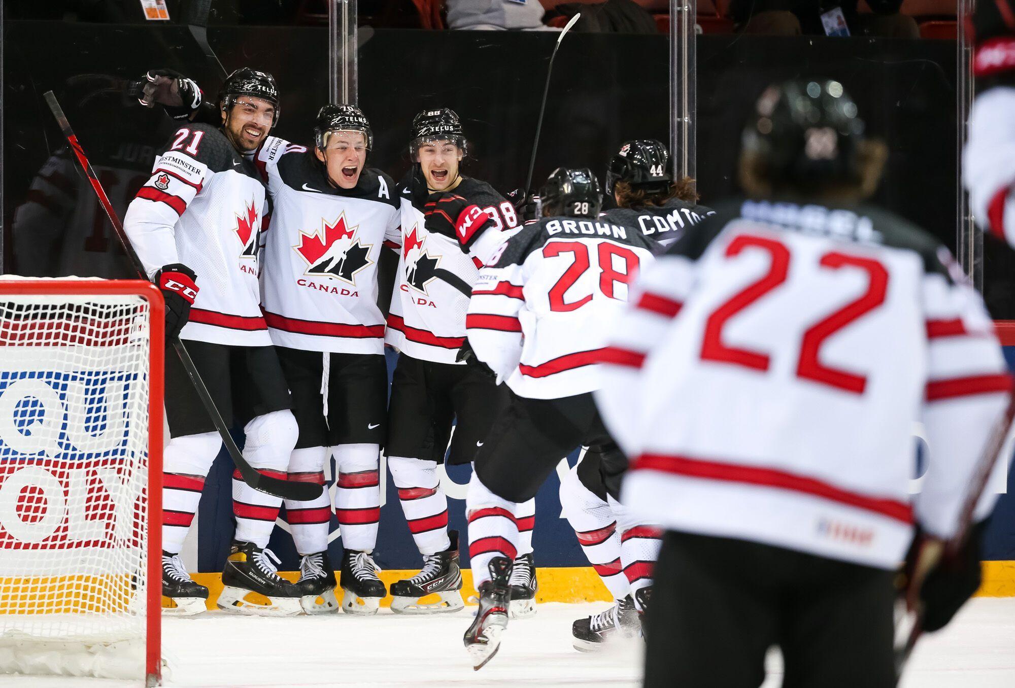 Канада вышла в полуфинал ЧМ.