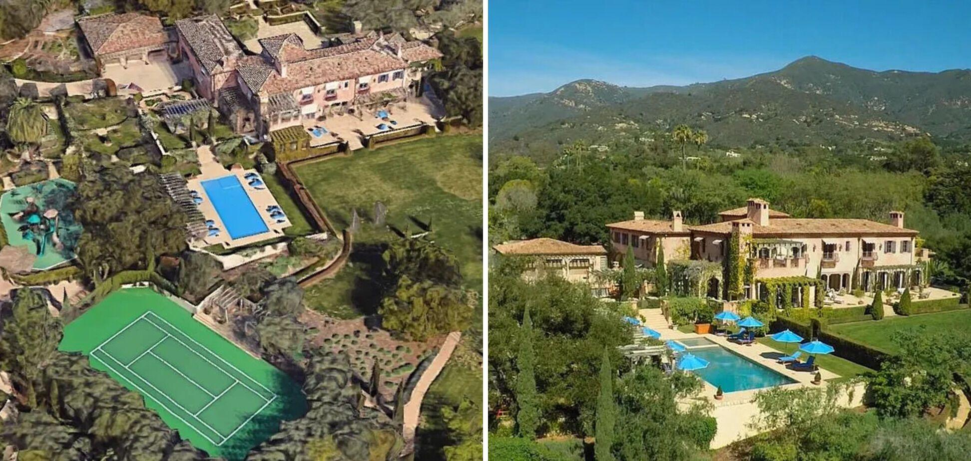 Принц Гаррі і його дружина Меган Маркл мають великий маєток у Каліфорнії