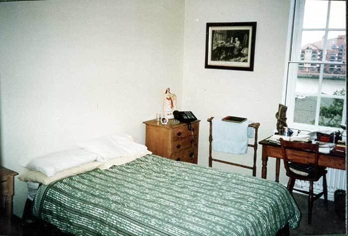 Як виглядала спальня.