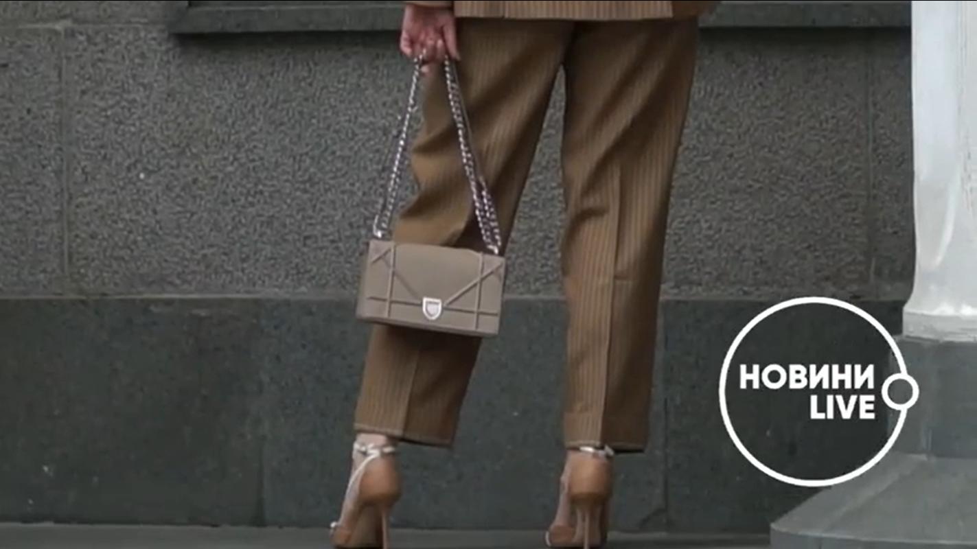 Элла Репина пришла в Верховную Раду с сумкой от Dior
