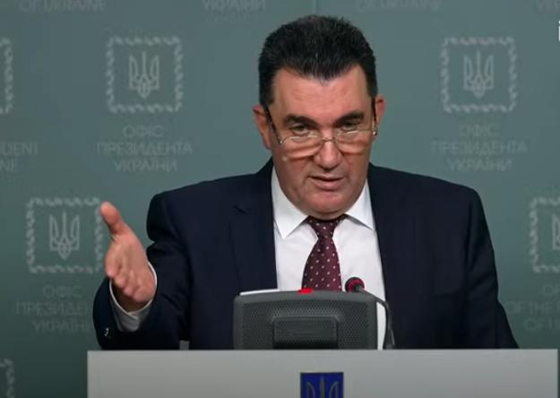 Данилов провел пресс-конференцию