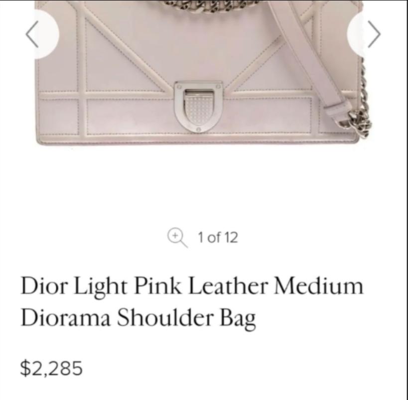 Сумка Dior, стоимость – 62 тыс. гривен