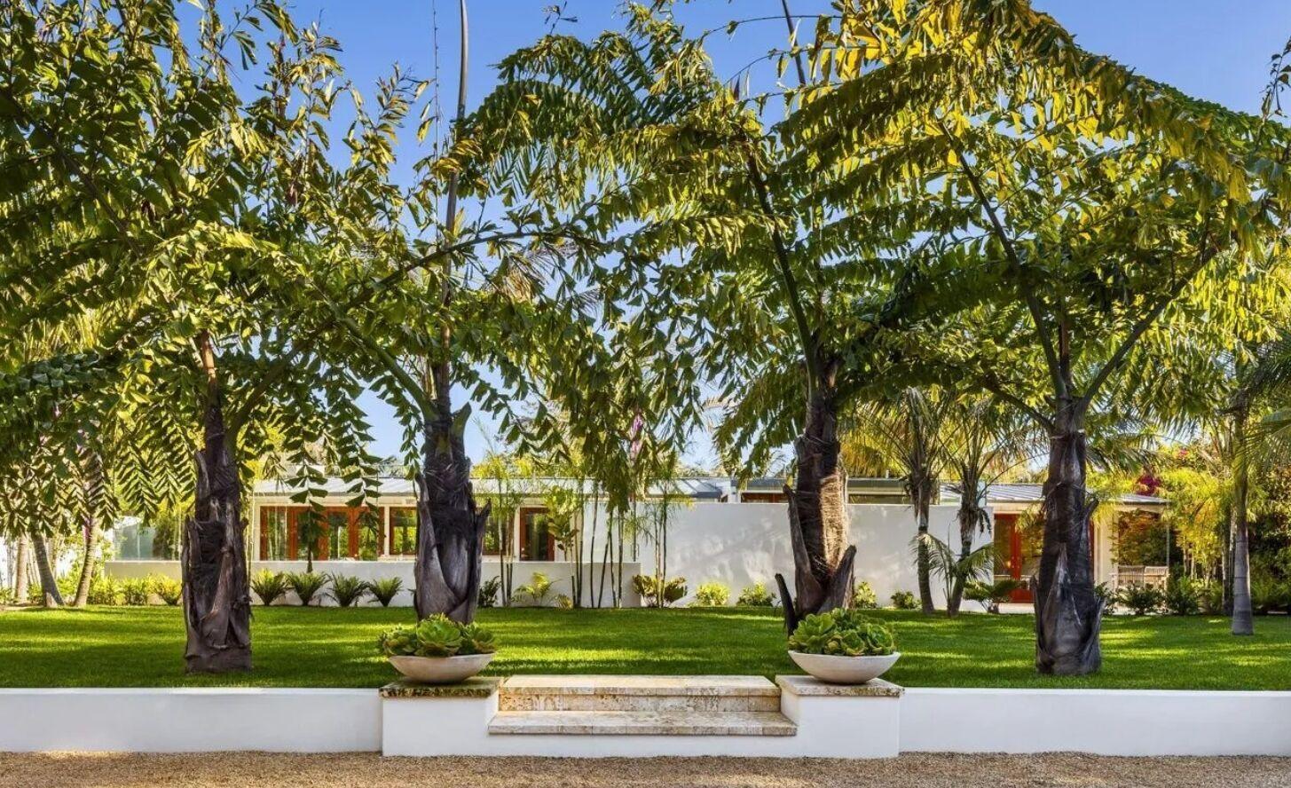 У дизайні переважає бетон і дерево