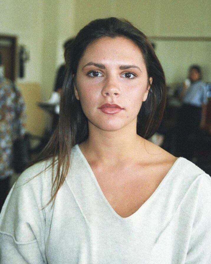 Виктория Бэкхем в начале 90-х