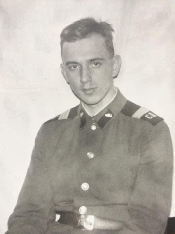 Кривонос поделился своими фотографиями из юности
