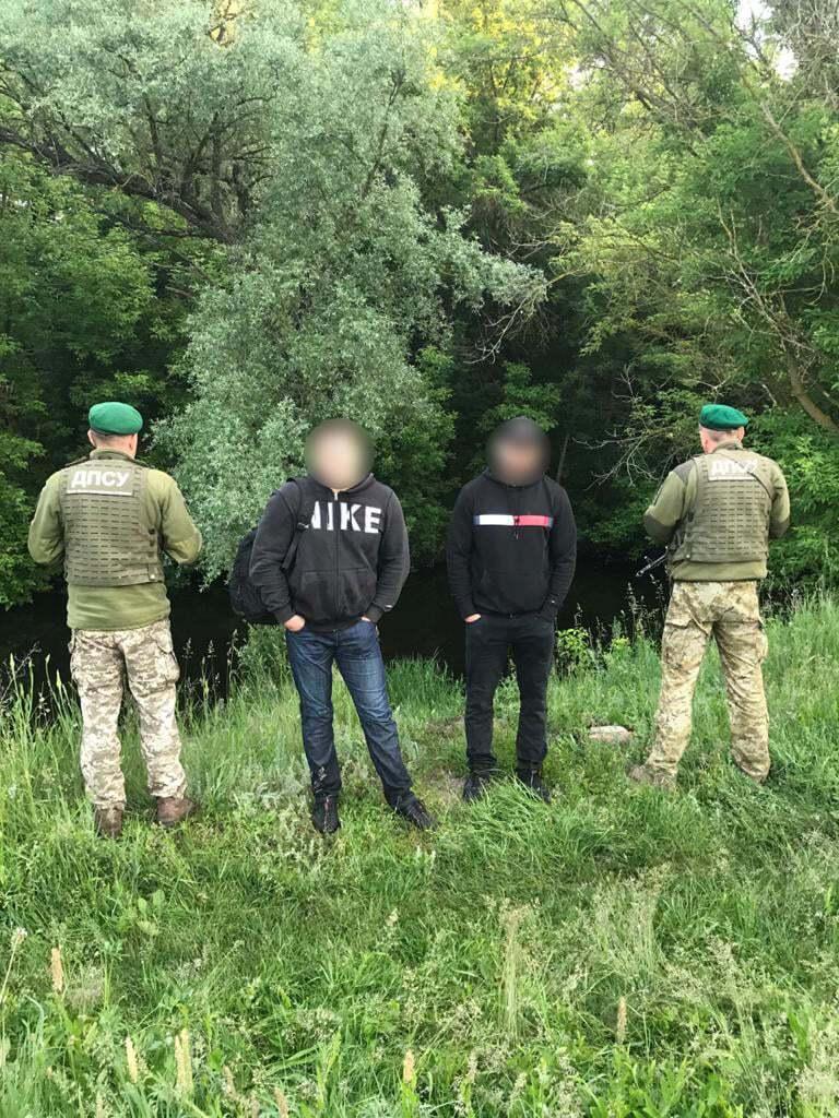 Затримані росіяни