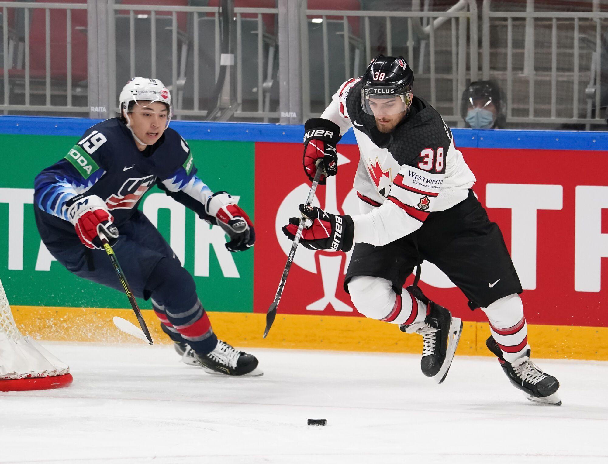 Канадцы выиграли североамериканское дерби.
