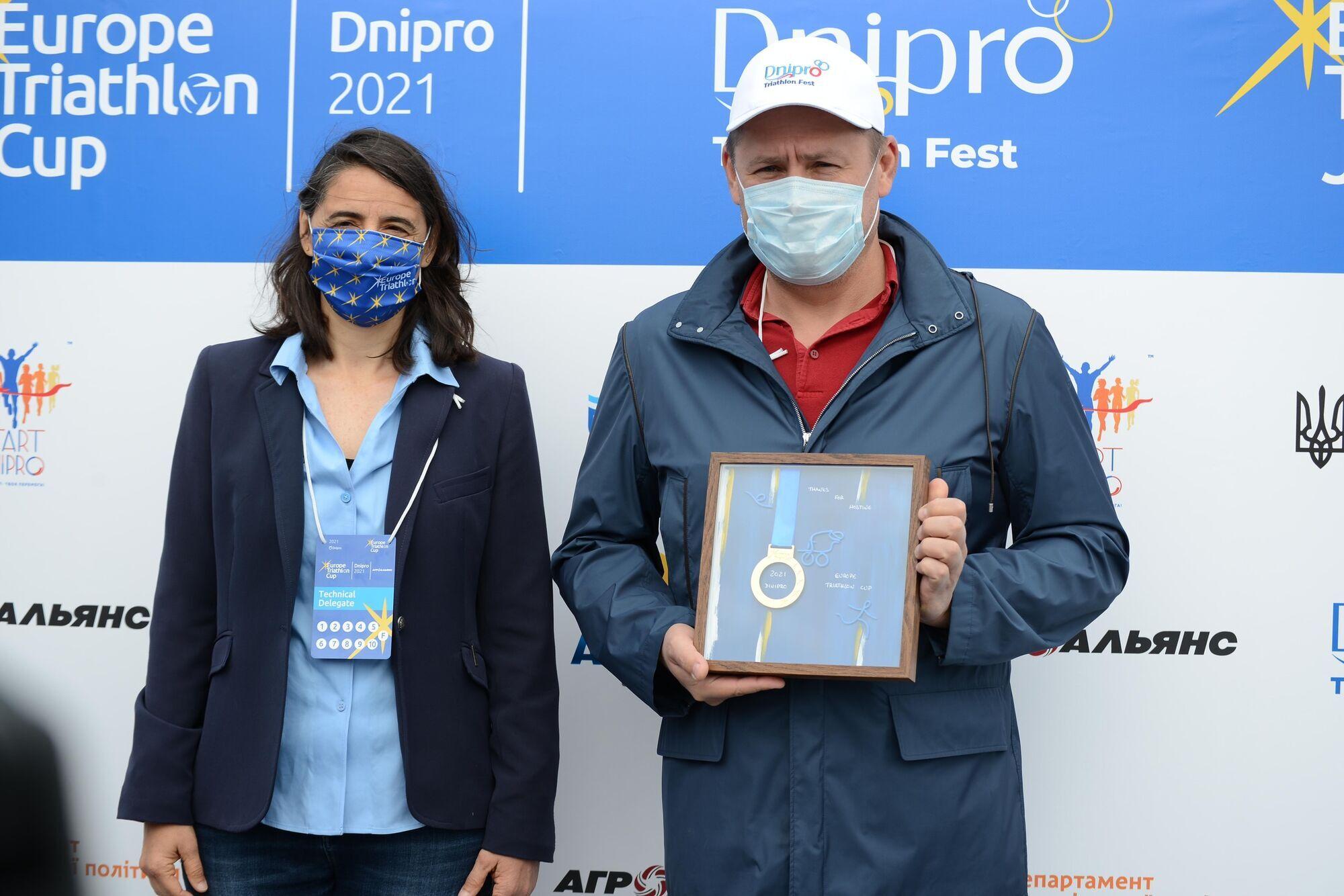 Представниця Європейського союзу триатлоністів назвала Дніпро столицею триатлонного фестивалю в Україні