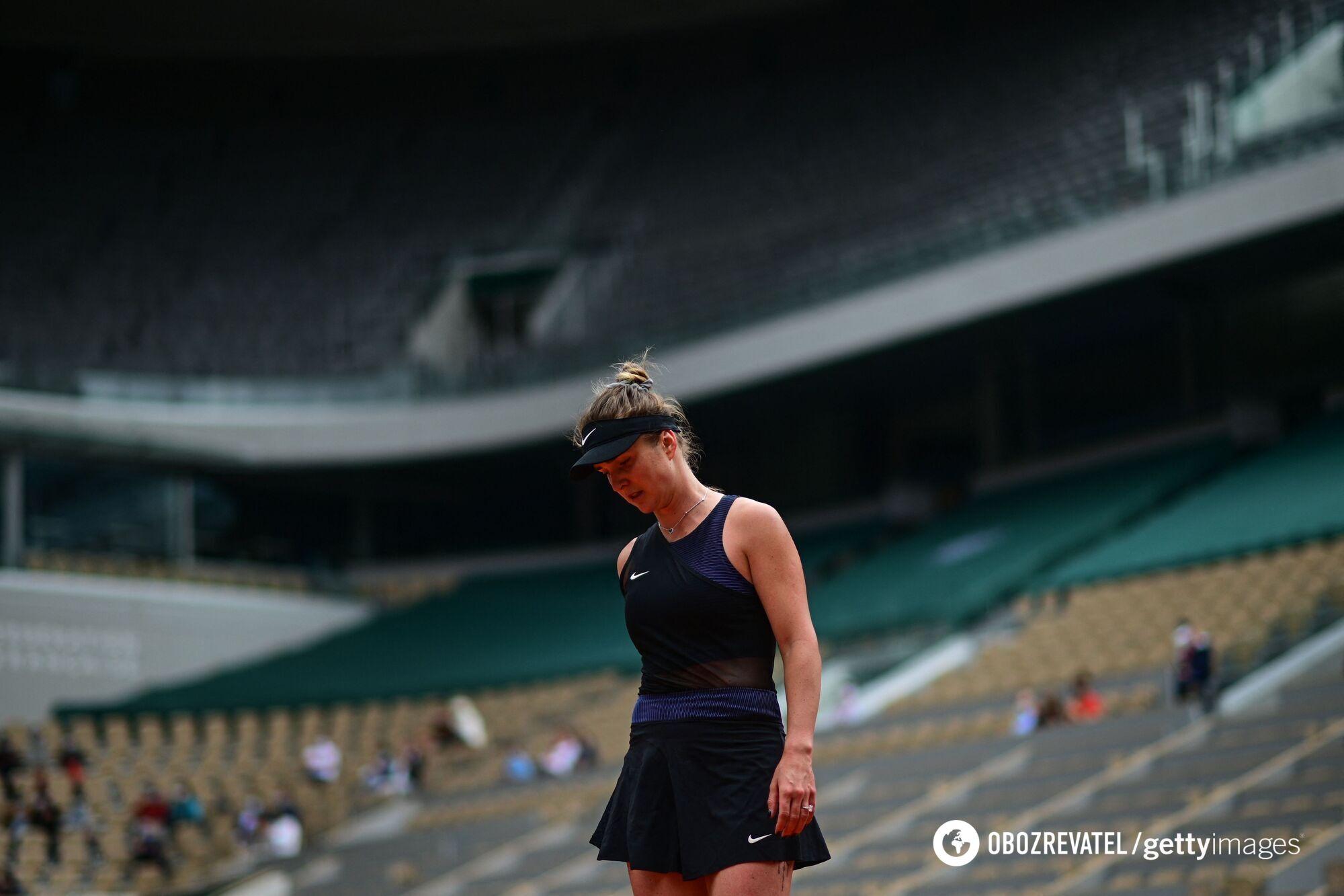 Світоліна вилетіла з Roland Garros.
