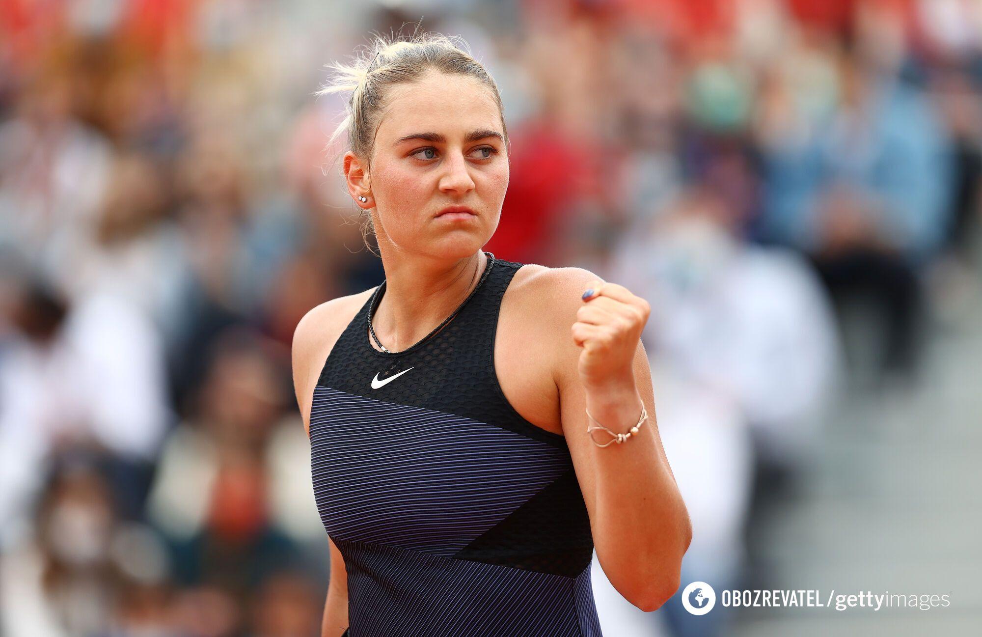 Марта Костюк перемогла в третьому колі Roland Garros.