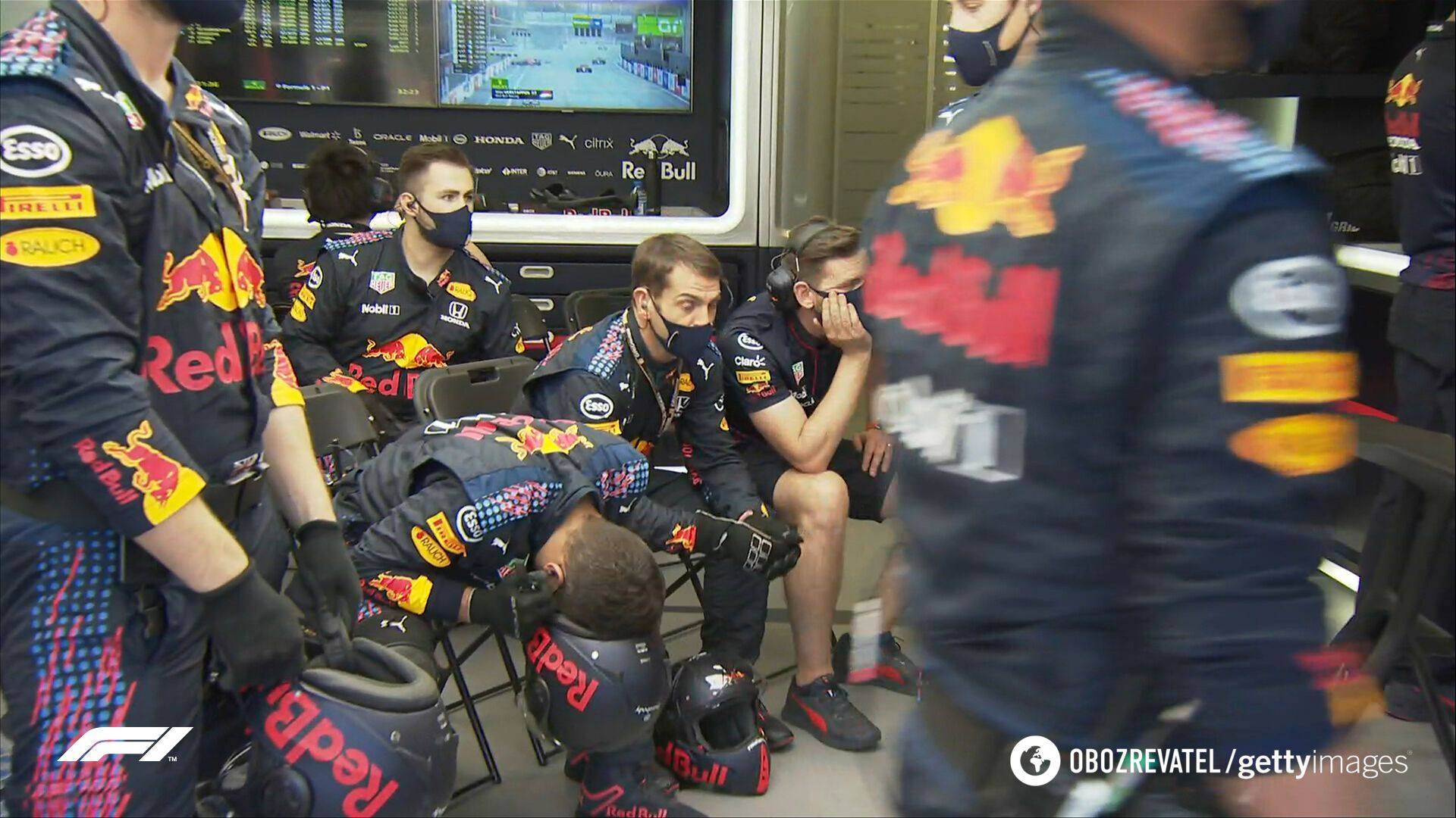 Разочарование команды Red Bull после аварии Ферстаппена